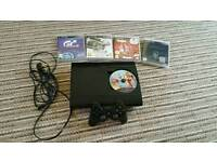 Superslim PS3 500gb with 6 games