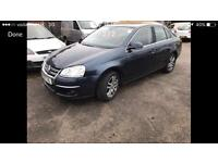 2007 07reg Volkswagen Jetta 1.9 Tdi SE Full Mot Drives Like New