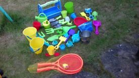 COLLECTION OF OUTDOOR TOYS