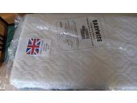 New cot/mosses basket mattress