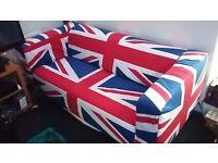 IKEA Klippan Sofa - UK Flag Cover