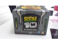 Ben 10 complete series DVD's