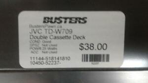 JVC Double Cassette Deck. We Sell Used Electronics. (#52237) OR1018482