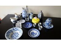 Mixed China and Glass set