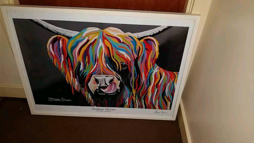 Steven Brown A1 Prints Framed In Dunbar East Lothian