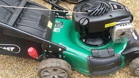 FULLY SERVICED Qualcast XSZ450 SD Self Drive Petrol Lawnmower