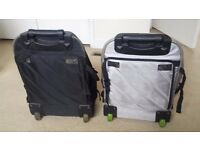 2x High Quality Sturdy GAP Wheelie Bags Convert into Backpack. V well made tons of zipped pockets