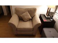 Argos Home Kayla Fabric Armchair - Beige