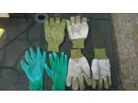 Gardening gloves x3 pairs