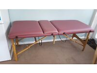 Beauty couch/massage couch ideal for mobile