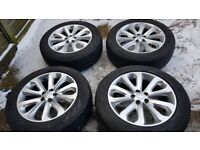 """20"""" genuine Range Rover alloy wheels - Land Rover Discovery, VW Transporter"""