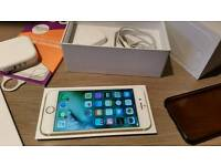 Iphone 6 gold (64gb ) in excellent condition on 02/ giffgaf / tesco mobile