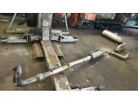 Corsa vxr 3inch turbo back decat exhaust system