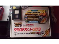 FX 9590 CPU, gigabyte motherboard & 16GB ram