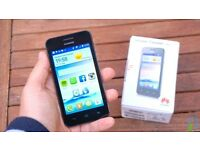 Huawei Y330 dual core android smartphone on EE/VIRGIN/ASDA/Tmobile /Orange