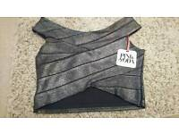 New crop top -unworn with tags