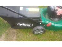 petrol lawnmower safe propelled