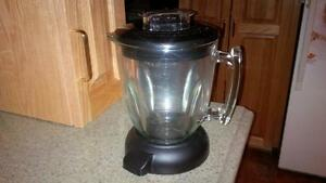 Brand New Heavy-duty blender (but no base); holds up to 6 cups
