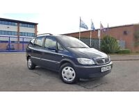 2003 Vauxhall Zafira 1.8 Comfort 7 Seater NEW ENGINE T/BELT + CLUTCH 1 LADY OWNER Family Mpv Galaxy