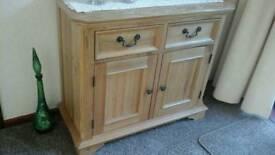 Light Oak sideboard Brand new