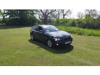 2013 BMW 116D EFFICIENT-DYNAMICS 5DR BLACK FREE-TAX FBMWSH MOT-18 OUTSTANDING FREE-DELIVERY CHEAP**
