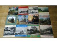 18 x train railways steam argo vinyl LP's / ep's collection