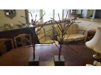 2 Led Tree Table Decorations
