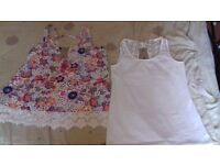 Ladies tops, unworn, labels attached, £3 each