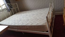Double Metalic Bed and Othosoft Mattress - not later than friday 27/7/18