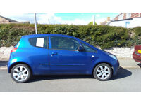 2007 Mitsubishi Colt blue 3 door . 66,000 miles. low tax and insurance. MOT until 11th April 2018