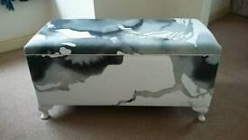 Upholstered Blanket Box / Ottoman