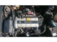Vauxhall Ecotech Engine and Gearbox 2.0 16V X20XEV not Redtop for Calibra Astra Vectra Omega 1994