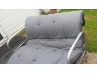 SOFA BED FUTON TYPE CONVERTS INTO DOUBLE BED £60 HOUNSLOW EAST