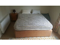 SUPERKING SIZE BED AND MATTRESS, GOOD QUALITY FOR SALE