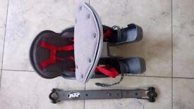 WeeRide Kangaroo Bike centre mount child carrier plus support bar
