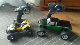 Rc cars x2