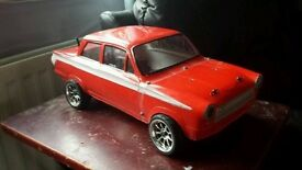 RC 1/10 scale electric car artr