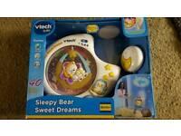 VTEC SLEEPY BEAR SWEET DREAMS COT LIGHT MOBILE