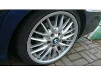 Bmw mv1 staggered alloy wheels