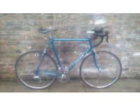 Vintage SAN REMO italian steel frame w/ new and quality modern parts into nice racer. 62cm