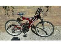 20 inch boys multi suspension bike