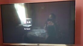 47 inch led 3d smart tv vgc