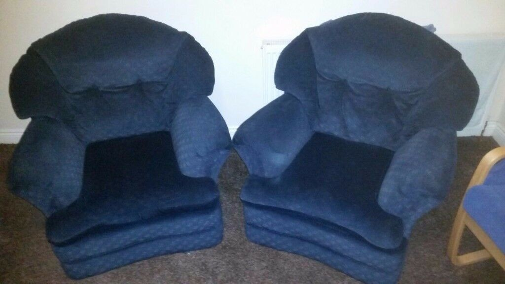 Pair of comfortable armchairs