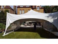 labours needed for marquee hire company