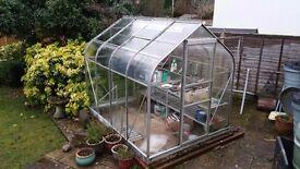 Very Good Quality 8 x 6 Greenhouse