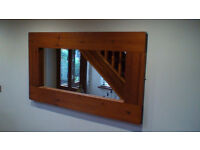 Pine Surround Wall Mirror