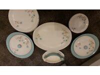 "Hostess table ware, ""Cornflower"""