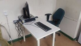 Desk space available for rent in Stratford