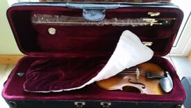 Brand new 3/4 size Vivaldi Violin includes luxury case, bow and adjusters.