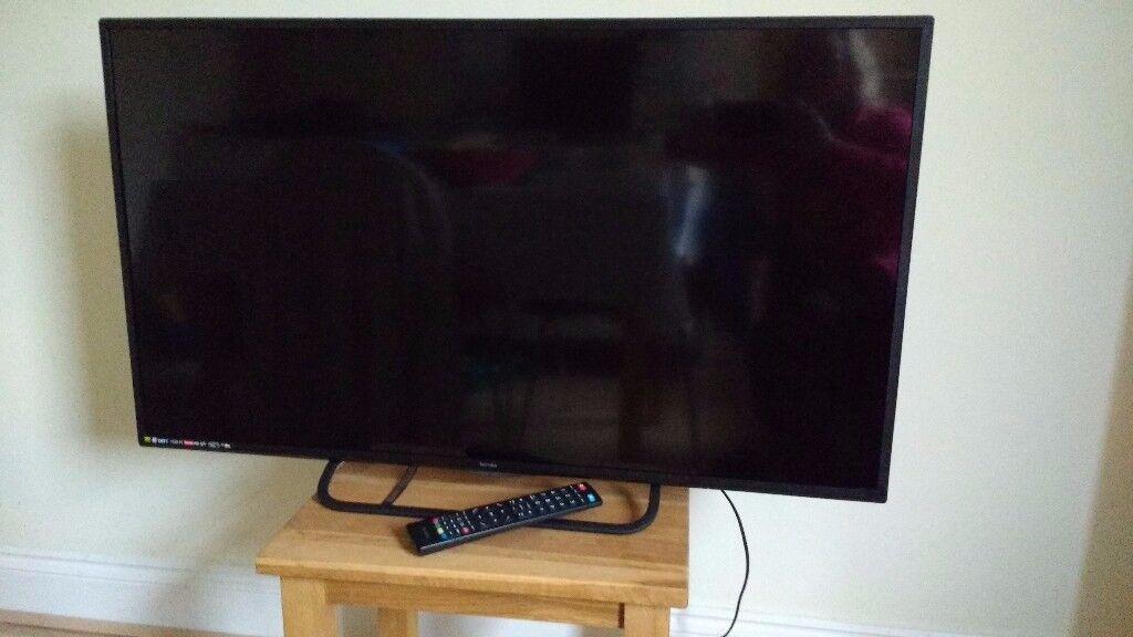 """40"""" Technika LED 1080p Full HD TV."""